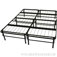 Epic Furnishings DuraBed Steel Foundation & Frame-in-One Mattress Support System Foldable Bed Frame Queen-size - B009F7IX4E