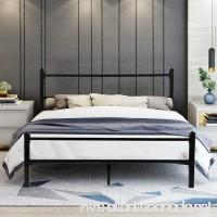 GreenForest Heavy Duty Bed Frame Full Size Non-slip Metal Frame Bed with Headboard and Footboard Steel Slat Bed Platform Mattress Support Foundation - B0799J5VML