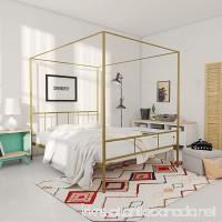 Novogratz 4195239N Marion Canopy Bed Queen Gold - B07D1BQZFG