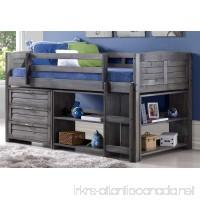 Twin Louver Low Loft Bed - B073R62T6C