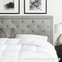 Brookside Upholstered Headboard with Diamond Tufting - King/California King - Stone - B071HBWDPP
