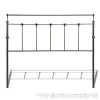 Fashion Bed Group Winslow Metal Headboard with Rounded Posts and Aluminum Castings  Mahogany Gold Finish  King - B002HWRG74
