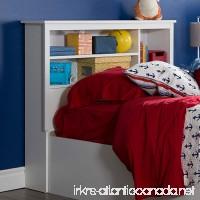 South Shore Furniture 39 Fusion Bookcase Headboard Twin Pure White - B00Y1QKG0I