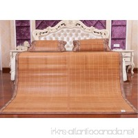 Bamboo Products Double-sided Folding Bamboo Mat Carbonized Water Mill Mat 1.5m Mat ZXCV (Size : 1.351.95m) - B07FD42W3B