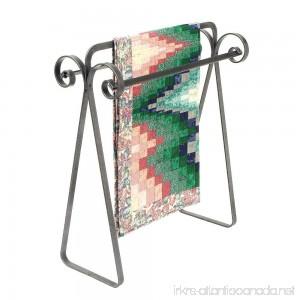 Enclume Premier Scrolled Quilt Rack Hammered Steel - B00020M7CW