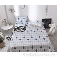 Summer New Folding Ice Silk Pad Three-piece 1.5m1.8m Bed Sheets ZXCV (Color : Blue Size : 230250cm) - B07FDJ72HX
